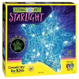 Creativity for Kids String Art Star Light Activity Kit
