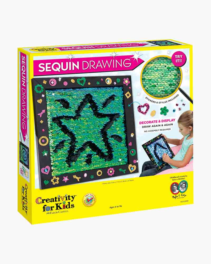 Creativity for Kids Sequin Drawing Art Kit