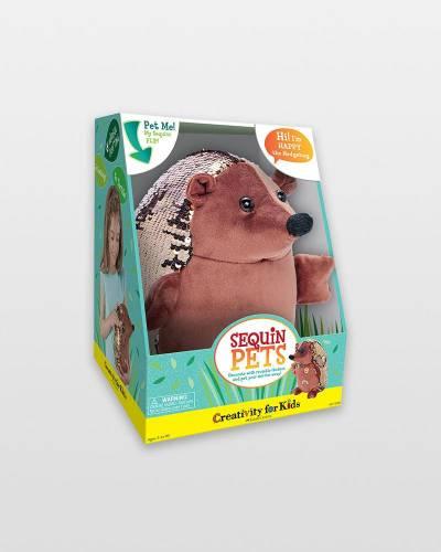 Happy the Hedgehog Sequin Pet Kit