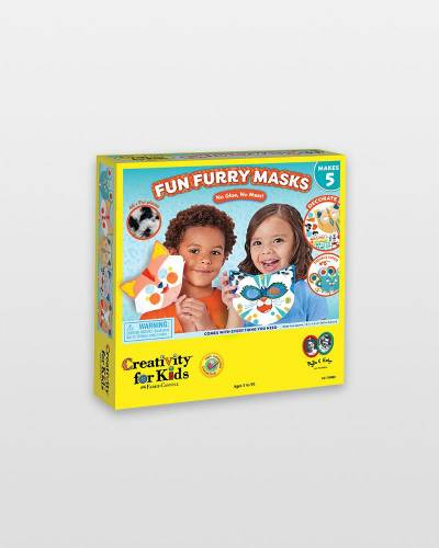 Fun Furry Masks Activity Kit