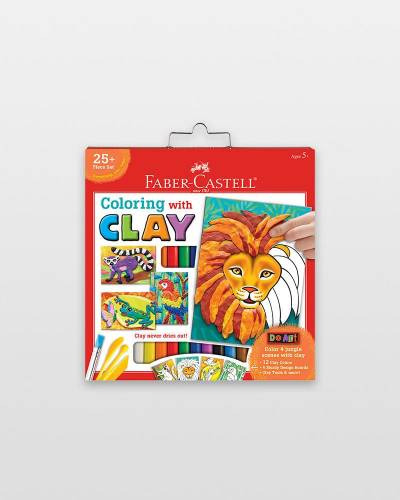 Do Art Coloring with Clay Activity Kit
