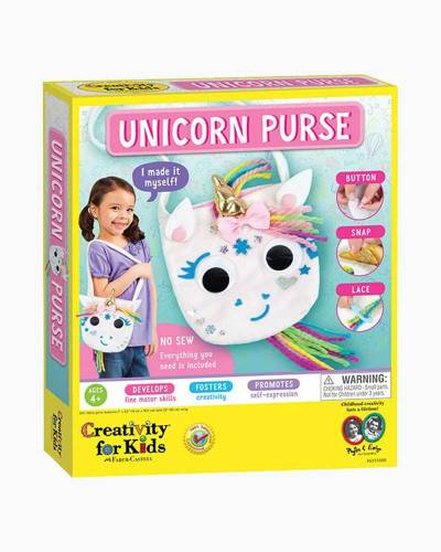 Unicorn Purse Craft Kit