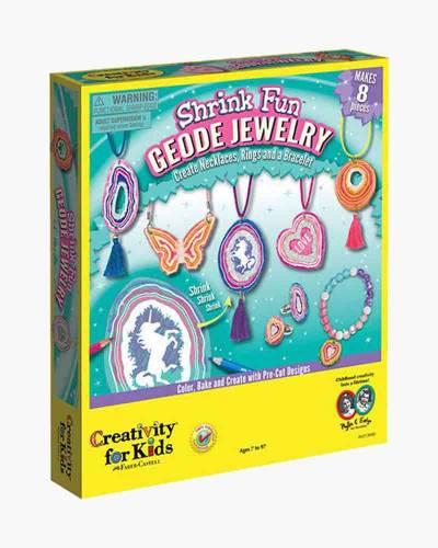 Shrink Fun Geode Jewelry Craft Kit