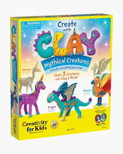 Create with Clay Mythical Creatures Activity Kit