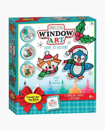 Holiday Sparkling Window Art Kit