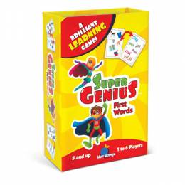 Blue Orange Games Super Genius First Words