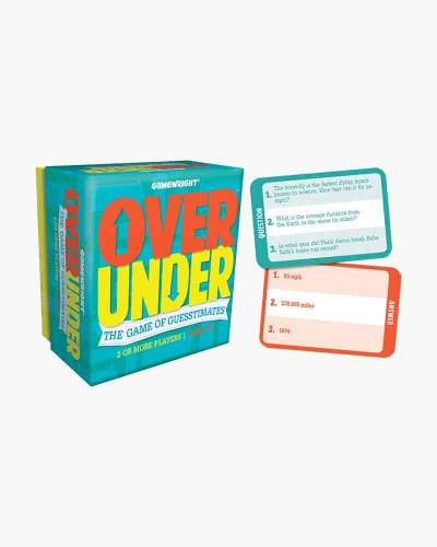 Over/Under Card Game