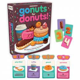 Gamewright Go Nuts for Donuts! Game