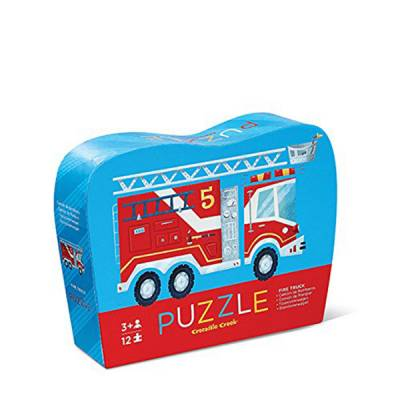 Fire Engine Mini Puzzle (12-pieces)