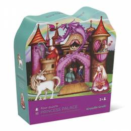 Crocodile Creek Princess Palace Shaped Puzzle