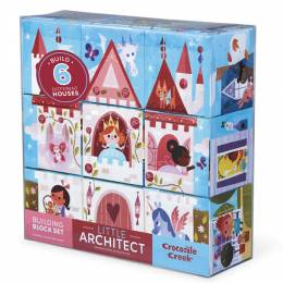 Crocodile Creek Pink Little Architect Building Block Set