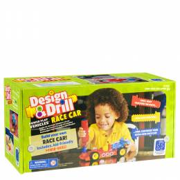 Educational Insights Design and Drill Power Play Vehicles Race Car