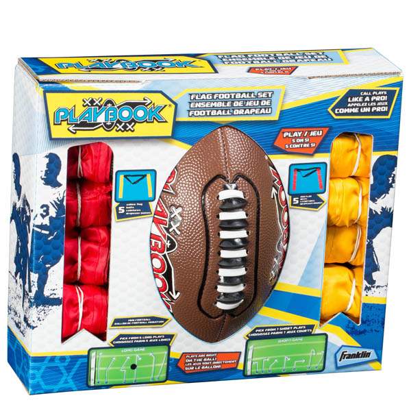 Franklin Sports Mini Flag Football Kit