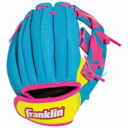 Franklin Sports Airtech Baseball Glove and Ball Set in Pink