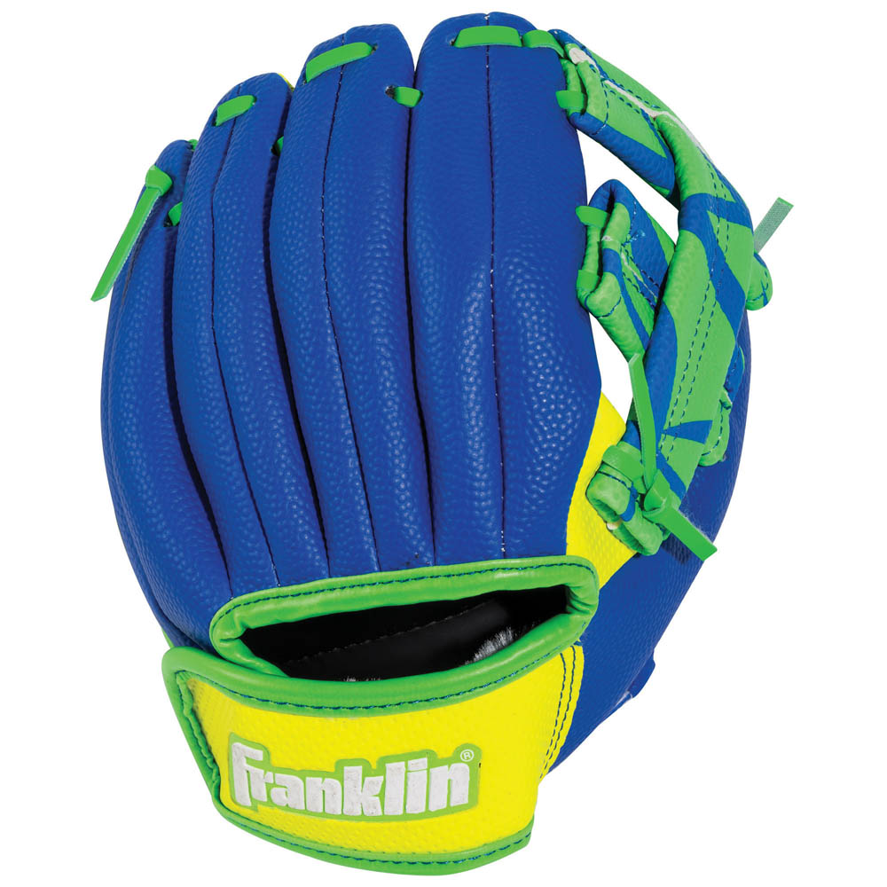 Franklin Sports Airtech Baseball Glove and Ball Set in Green