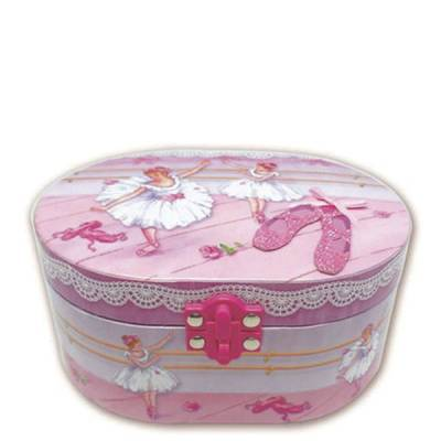 Ballet Musical Jewelry Box