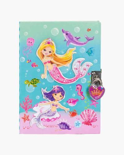 Mermaid Diary with Lock and Key