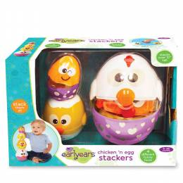 Early Years Chicken and Egg Stackers