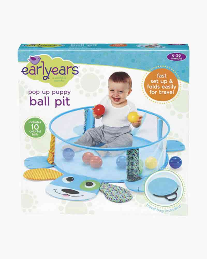 Earlyears Pop Up Puppy Ball Pit