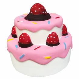 Jeannie's Enterprises Two Layer Cake Squishies Squeeze Toy