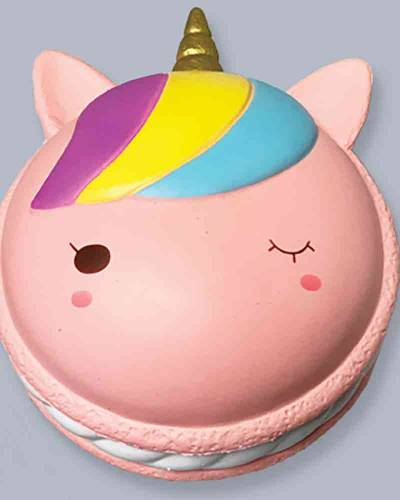 Jumbo Unicorn Cookie Squishies Squeeze Toy