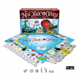 Late for the Sky Production Co. New York-Opoly