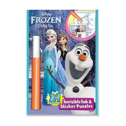 Lee Publications Disney's Frozen: Chilly Fun 2-In-1 Activity Book