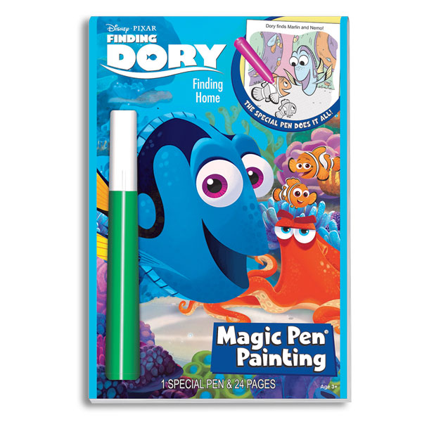Lee Publications Disney/Pixar Finding Dory Magic Pen Painting Activity Book