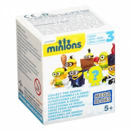 Mattel Buildable Minions Blind Packs Series III
