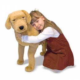 Melissa and Doug Yellow Lab Giant Stuffed Animal