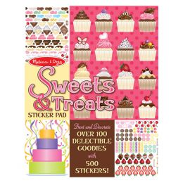 Melissa and Doug Sweets and Treats Sticker Pad