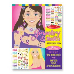 Melissa and Doug Jewelry and Nails Sticker Pad