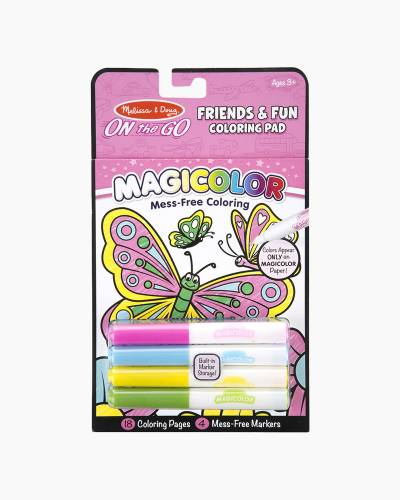 Friends and Fun On the Go Magicolor Coloring Pad