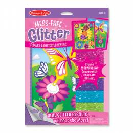 Melissa and Doug Mess-Free Glitter Butterfly Scenes Set