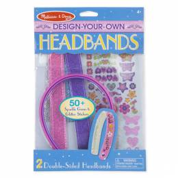 Melissa and Doug Design Your Own Headbands Craft Kit
