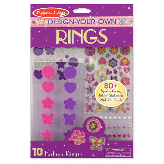 Melissa and Doug Design Your Own Rings Craft Kit