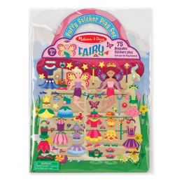 Melissa and Doug Fairy Puffy Stickers Play Set