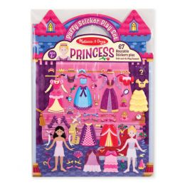 Melissa and Doug Princess Puffy Stickers Play Set