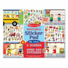 Melissa and Doug My Town Sticker Pad