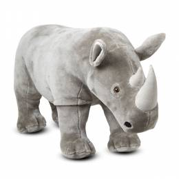 Melissa and Doug Rhinoceros Lifelike Stuffed Animal