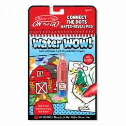 Melissa and Doug Water WOW! Connect the Dots Farm - ON the GO Travel Activity