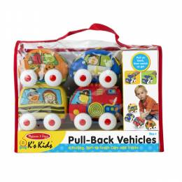 Melissa and Doug Pull-Back Vehicles Baby and Toddler Toy