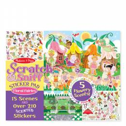 Melissa and Doug Floral Fairies Scratch and Sniff Sticker Pad