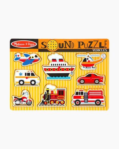 Vehicles Sound Puzzle (8 pc.)