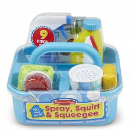 Melissa and Doug Let's Play House! Spray, Squirt and Squeegee Play Set