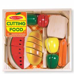 Melissa and Doug Cutting Food Toy Set