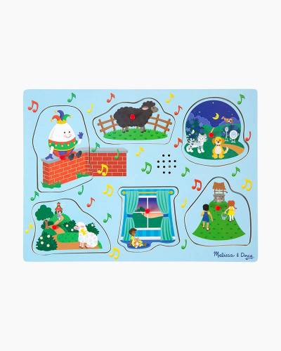 Sing-Along Nursery Rhymes Sound Puzzle in Blue (6 pc.)