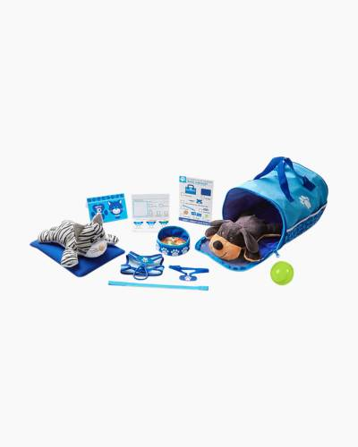 Tote and Tour Plush Pet Travel Play Set
