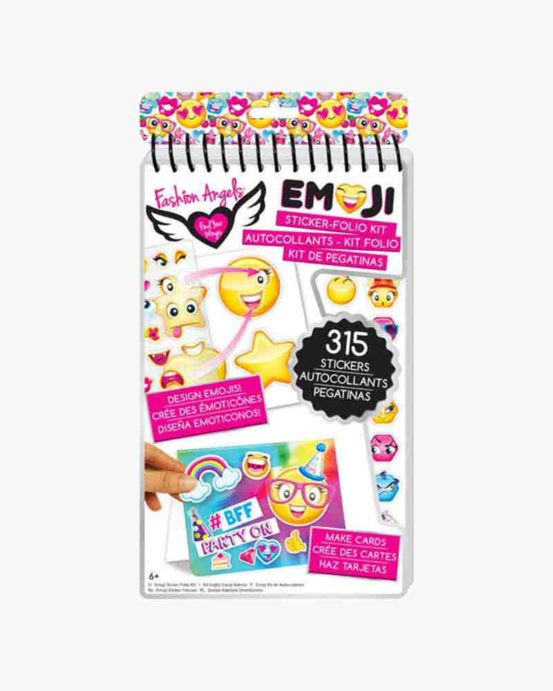 Emojicon Emoji Sticker-Folio Kit