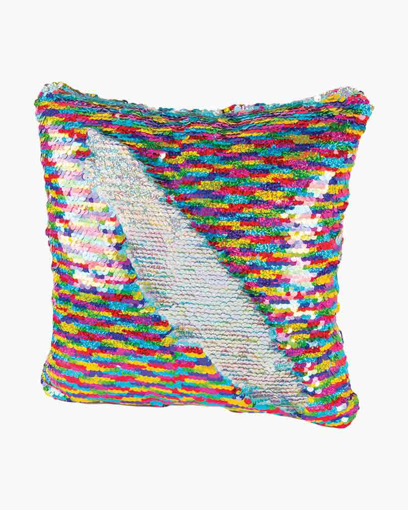 Fashion Angels Magic Sequin Pillow in Rainbow